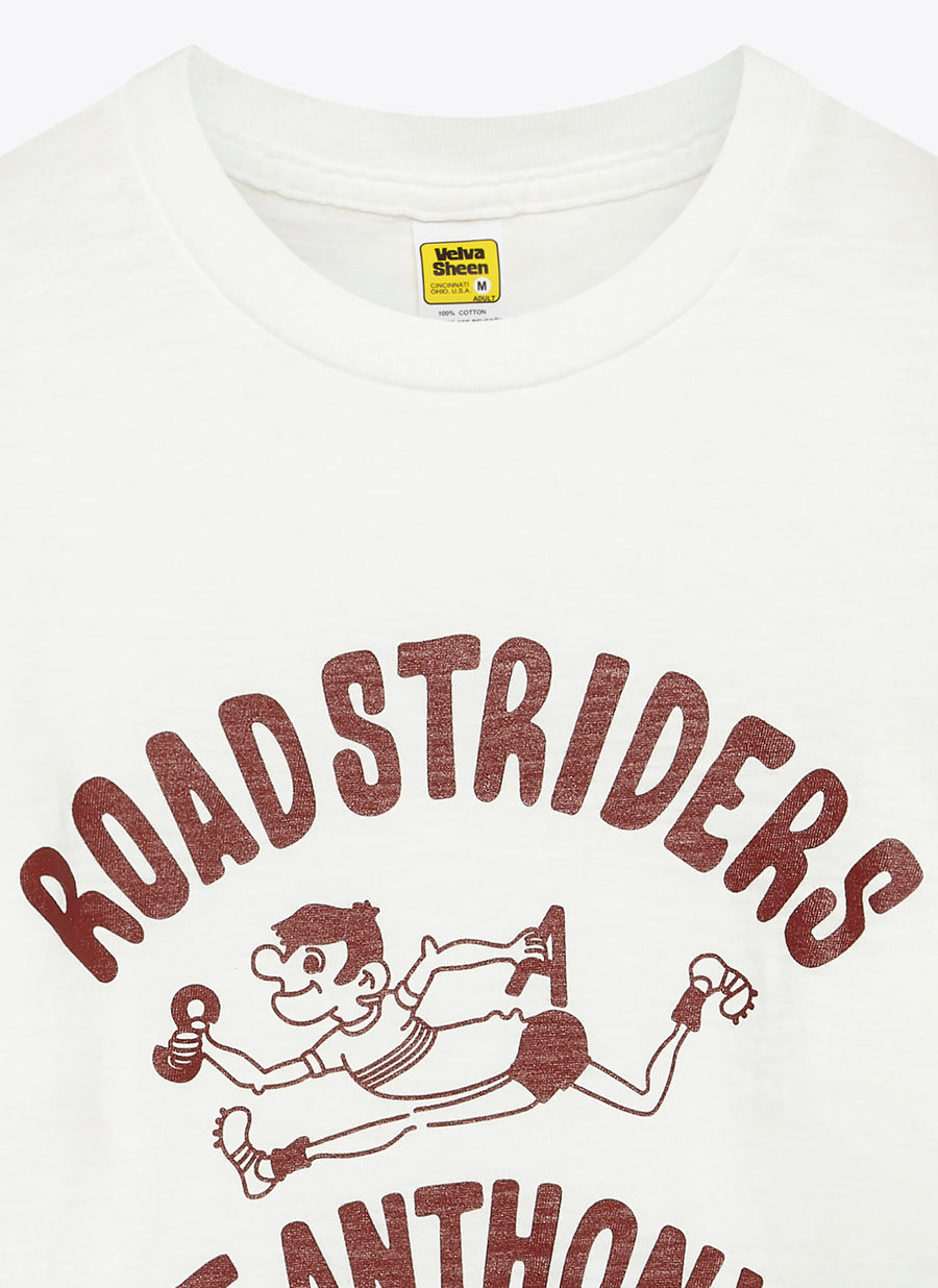 Road Striders Tee - White
