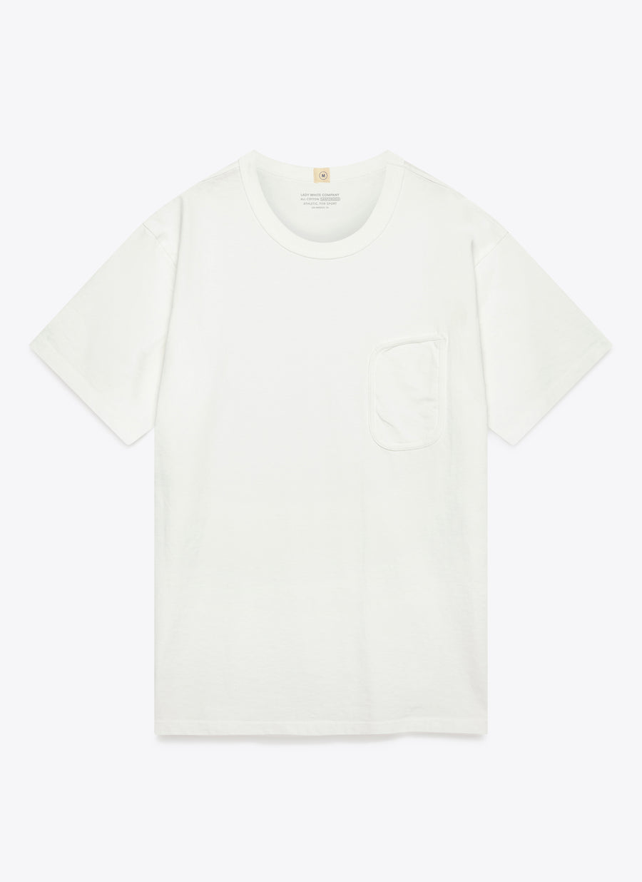 Lady White Co. Clark Pocket T - White - The Great Divide