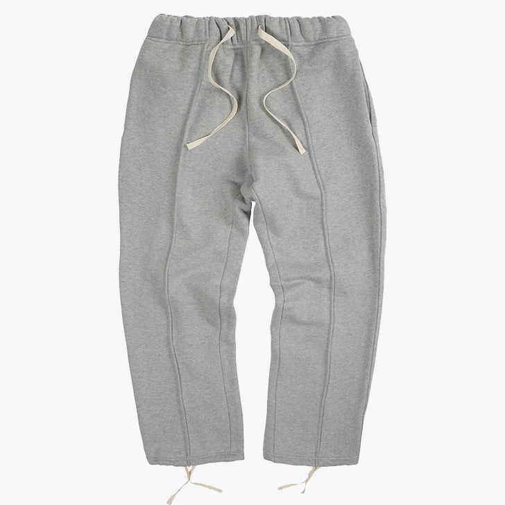 Piping Sweatpants - Melange Gray