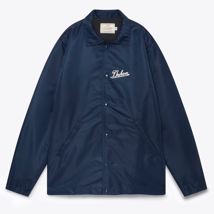 Coach's Club Jacket - Navy Satin