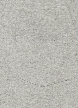 Two Pack T-Shirts with Pocket - Heather Grey