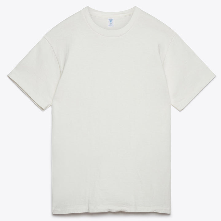 Two Pack T-Shirts - White / Oatmeal