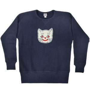 Ebbets Field Flannels Kansas City Katz Crewneck Sweater