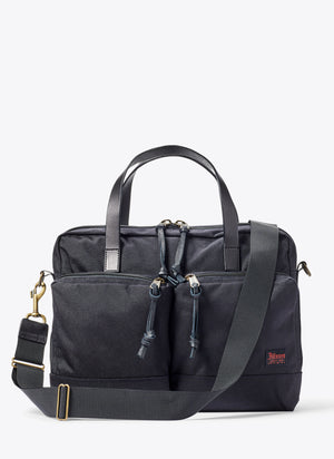 Ballistic Nylon Dryden Briefcase - Dark Navy