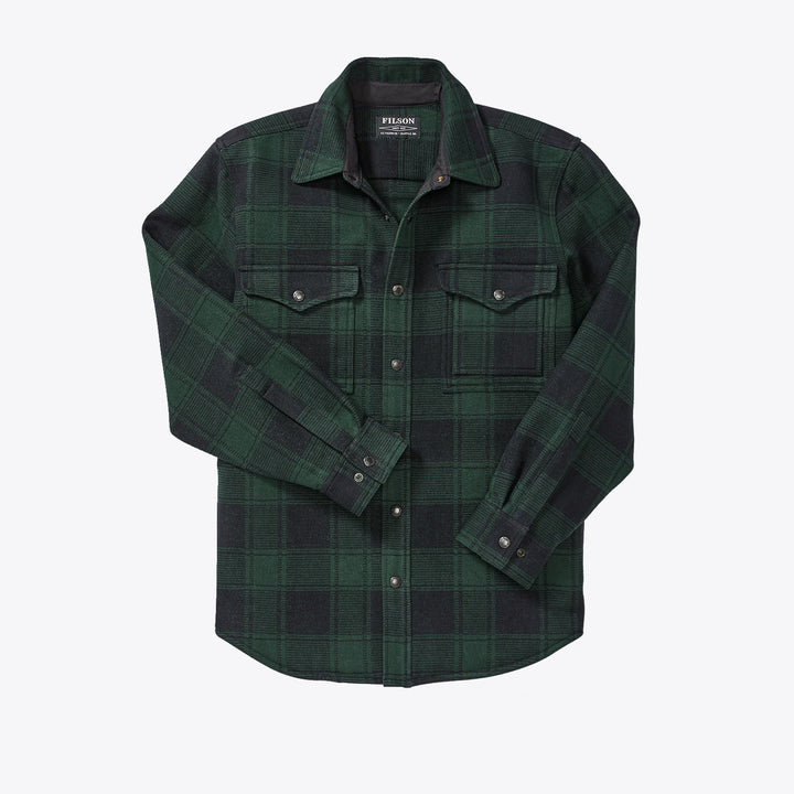Beartooth Jac Shirt - Black / Green Plaid
