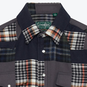 Gitman Vintage Patchwork Western Shirt - The Great Divide