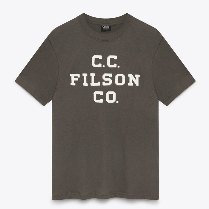 Filson Outfitter Graphic T-Shirt - Charcoal - The Great Divide