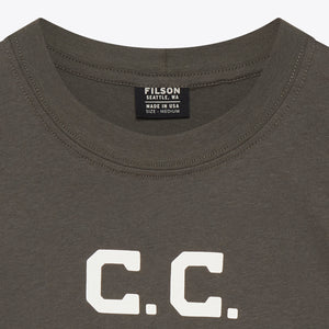 Outfitter Graphic T-Shirt - Charcoal