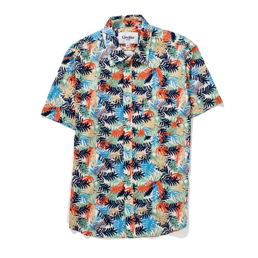 Corridor - Fern Hawaiian SS Shirt - The Great Divide - Free Delivery