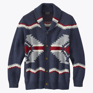 Highland Cardigan - Navy
