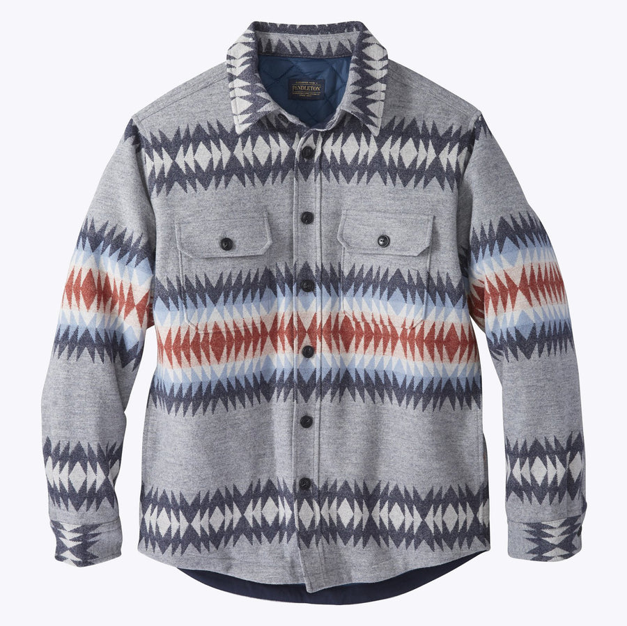 Jacquard CPO Jacket - Thunder Creek Grey