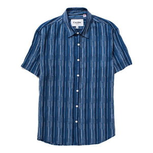 Corridor - Raindrop Stripe SS Shirt - The Great Divide - Free Delivery