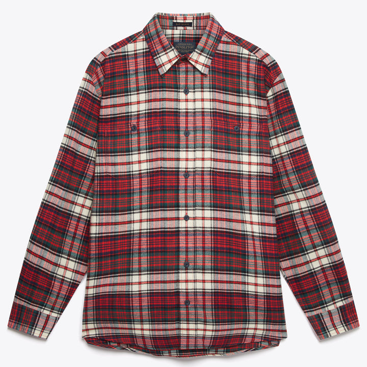 Hawthorne Flannel Shirt - Macdonald Dress Tartan