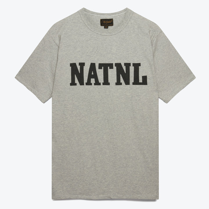 Athletic Natnl Tee - Ash Grey