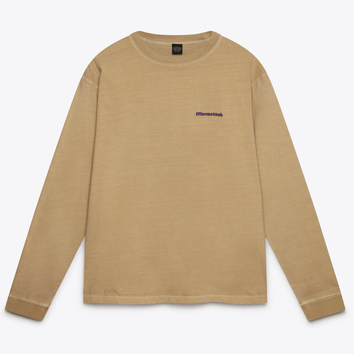 Crew Long Sleeve Tee - Sand