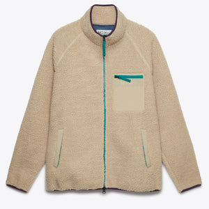 Mt. Gorilla V Fleeced Jacket - Natural
