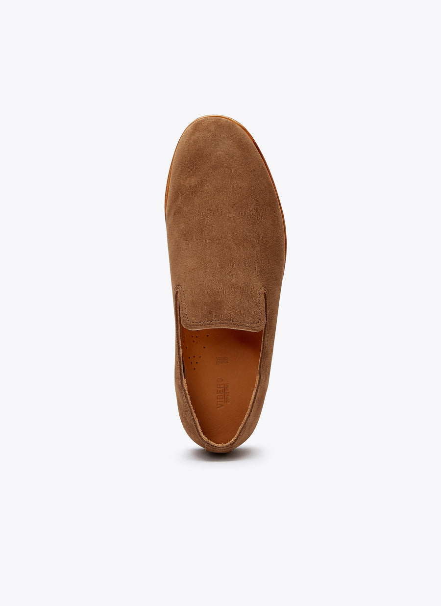 Viberg Slipper - Snuff Bison Calf - The Great Divide