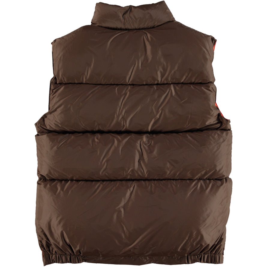 Italian Vest - Brown / Orange