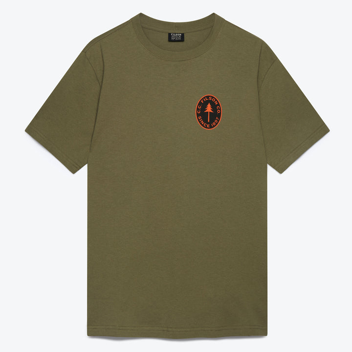 Outfitter Graphic T-Shirt - Burnt Olive