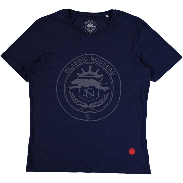 Grayhound Tee - Indigo