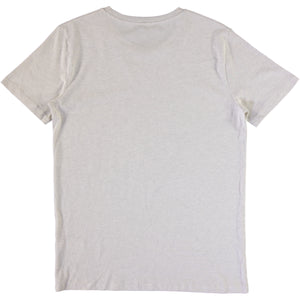 Grayhound Tee - Cream Heather Gray