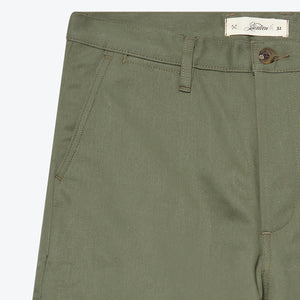 CH-55x Selvedge Chino - Olive