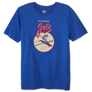 Ebbets Field Flannels Columbus Jets 1961 T-Shirt - The Great Divide