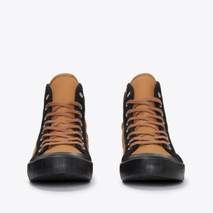 1892 National Treasure Contrast High Top - Deadgrass / Black