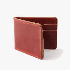 Cordovan Utility Bifold - Marion Red
