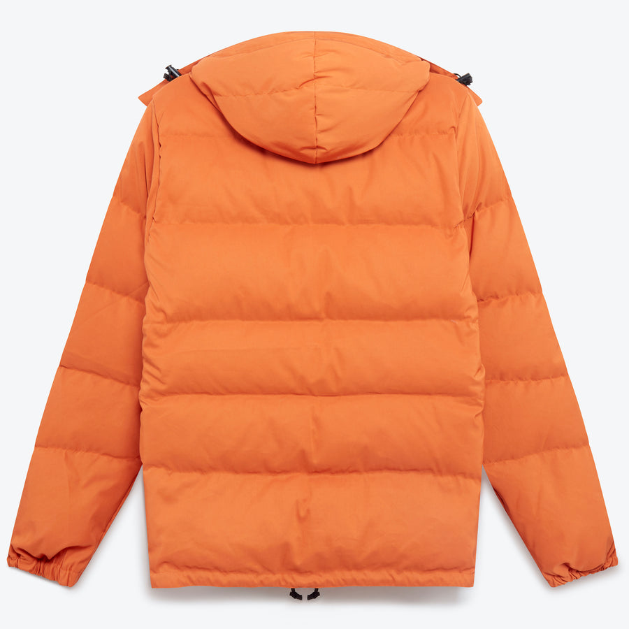 Classico Parka - Rust / Camouflage Ripstop