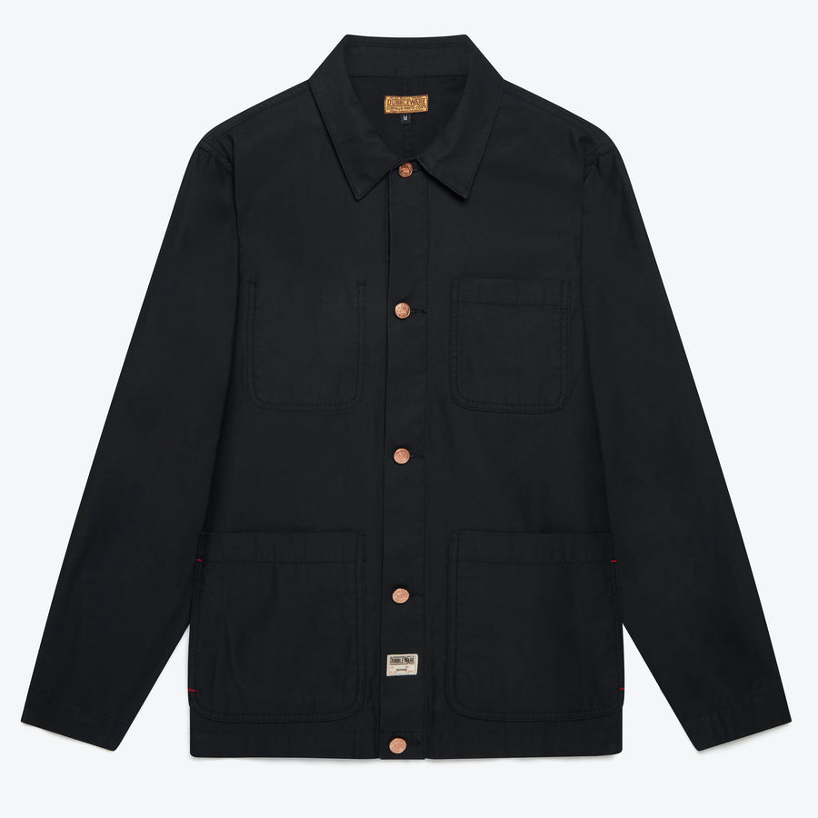 Dubbleware Chore Jacket - Black - The Great Divide
