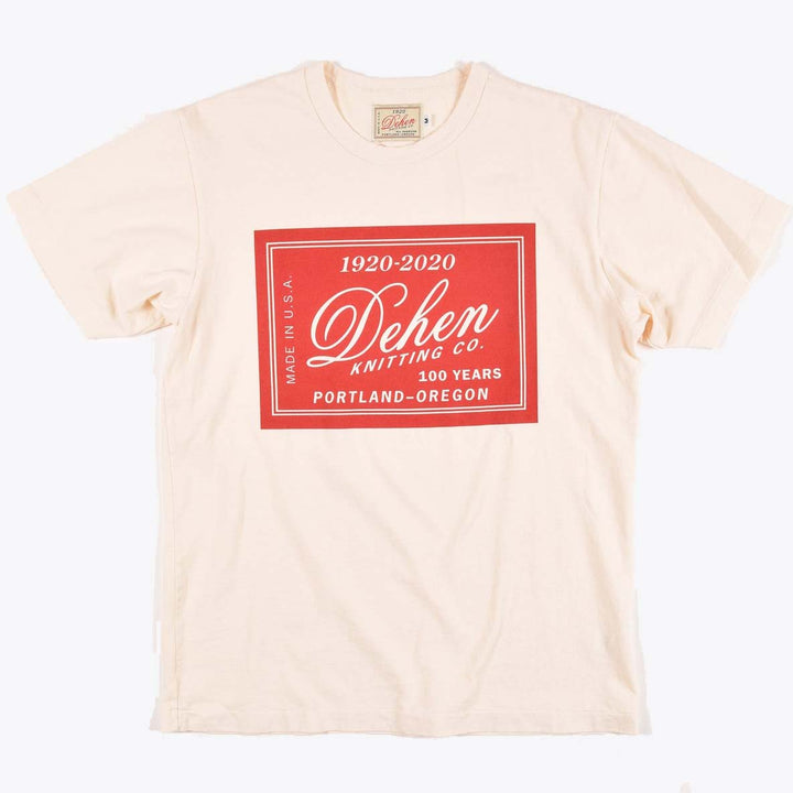 100 Year Label Tee - Natural
