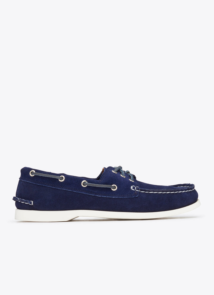 Downeast Boat Shoe - Navy Suede