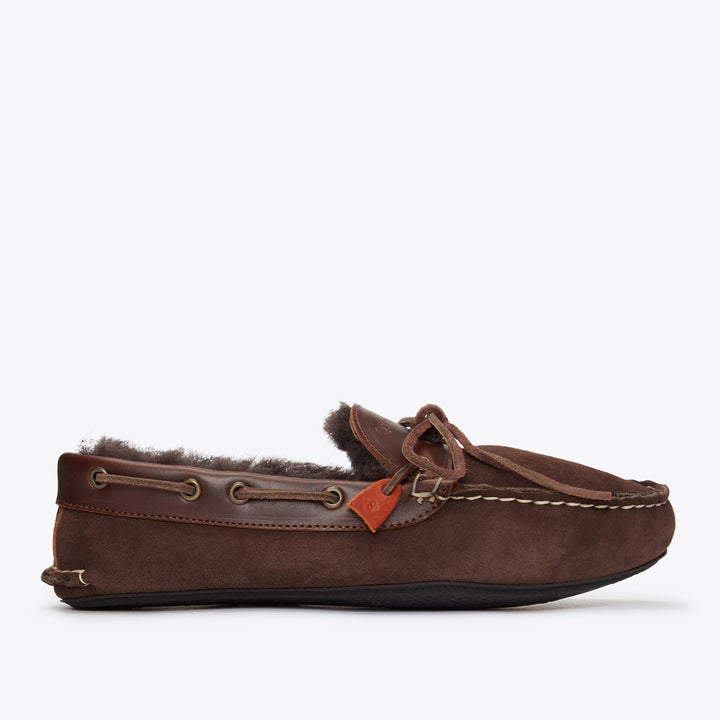 Fireside Slipper - Chocolate