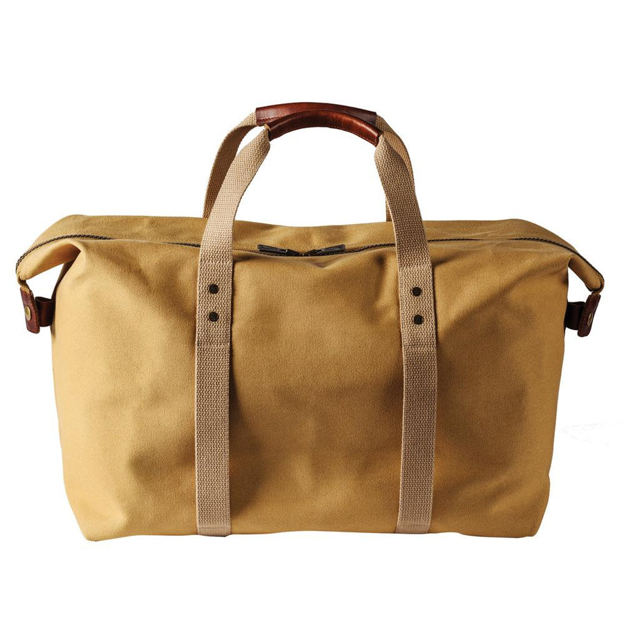 Cotton Canvas Gym Bag - Harvest Tan