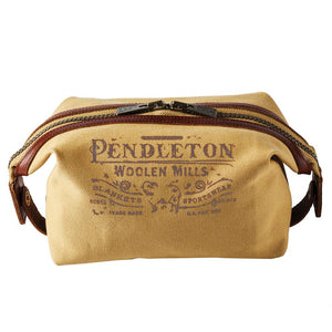 Cotton Canvas Essentials Pouch - Harvest Tan