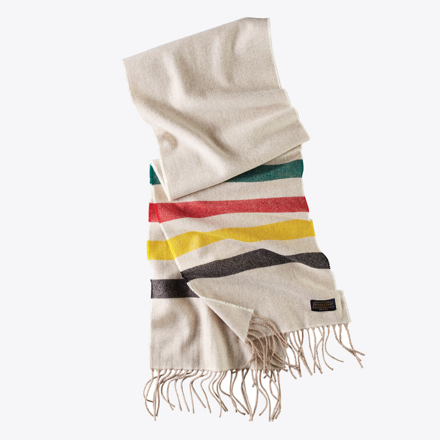 Whisperwool Muffler - Glacier Stripe