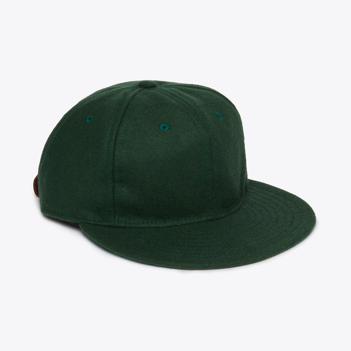 Unlettered Wool Ballcap - Genuine Green