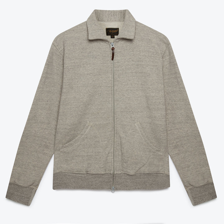 Full Zip Campus - Mid Grey