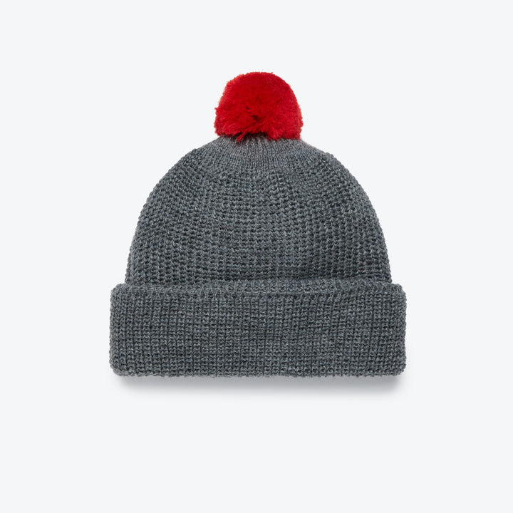 Heimat U-Boat Hat - Battleship Gray / Safety Red - The Great Divide