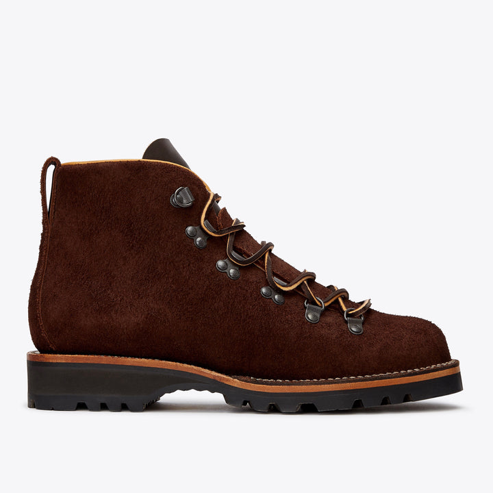 Viberg Hiker Mocha Oil Tan Roughout - The Great Divide