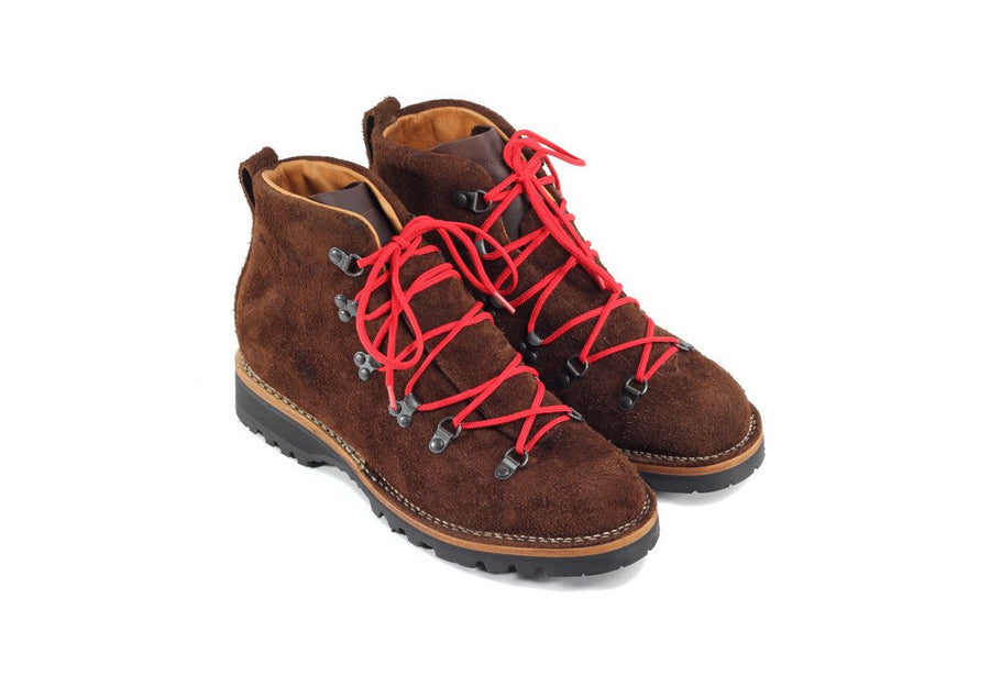 Viberg Hiker Mocha Oil Tan Roughout - The Great Divide - Free Delivery