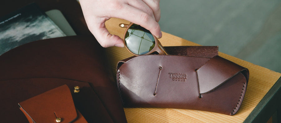 Sunglass Case - Natural