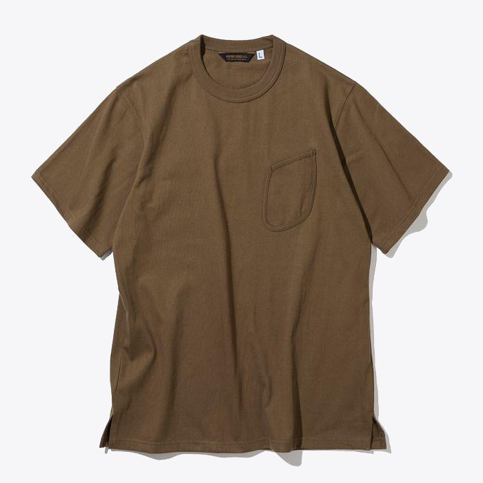 Watch Pocket Tee - Brown