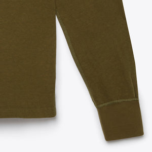 Surplus Henley - Olive Drab
