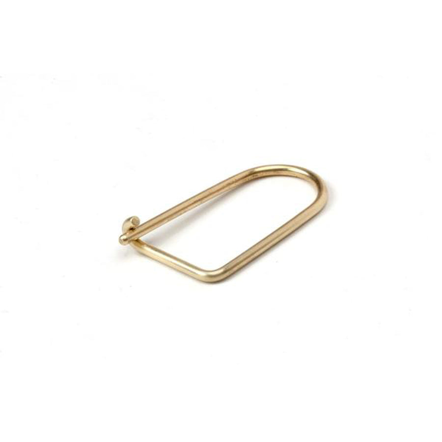 Craighill Wilson Keyring - Brass - The Great Divide