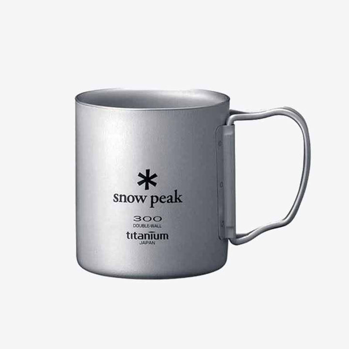 Titanium Double Wall 300ml Mug