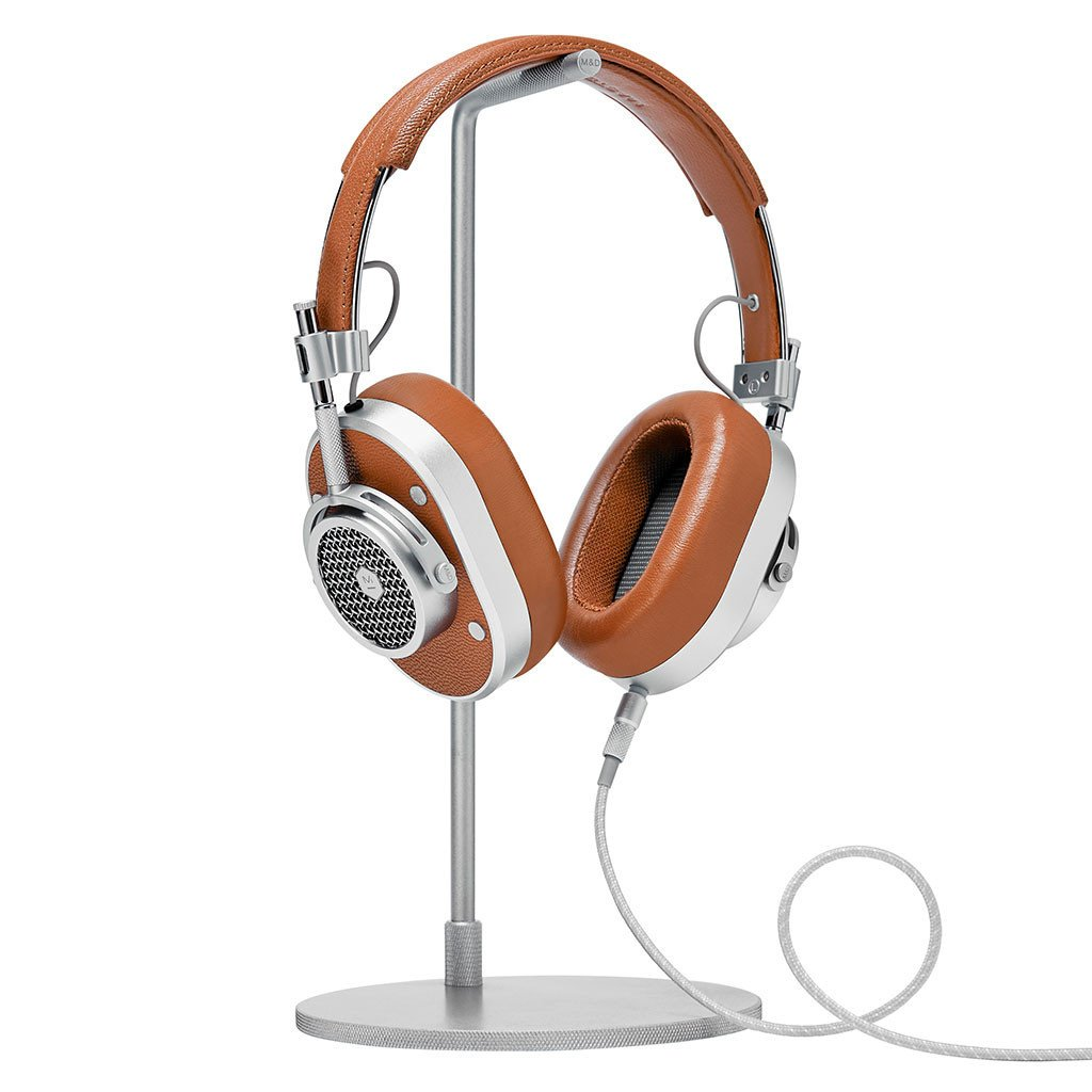 999dc32ce5bcb9 Master & Dynamic - MH40 Wireless Over-Ear Headphones - Silver/Brown