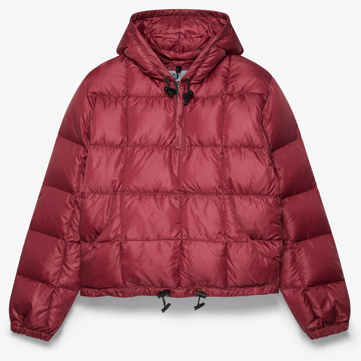 Hooded Pullover - Burgundy