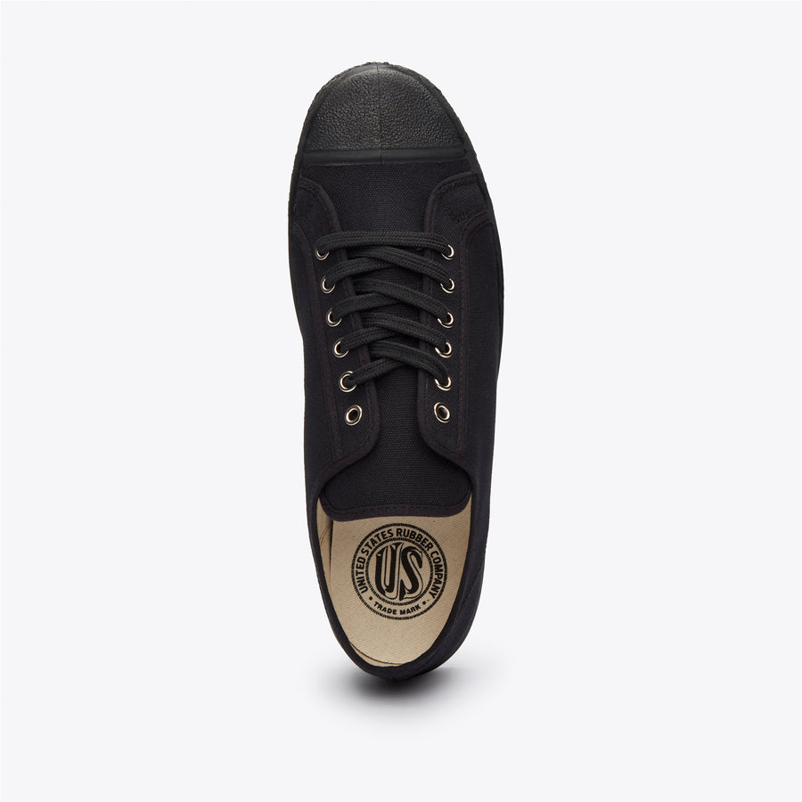 Military Low Top - Black